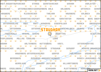 map of Staudham