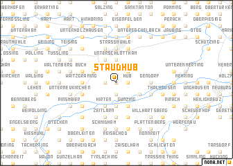 map of Staudhub