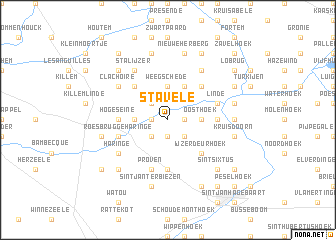 map of Stavele