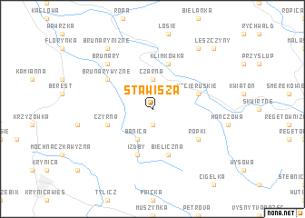 map of Stawisza