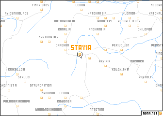 map of Stáyia