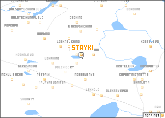map of Stayki