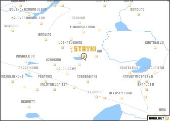map of Stayki