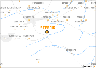 map of Stebnik