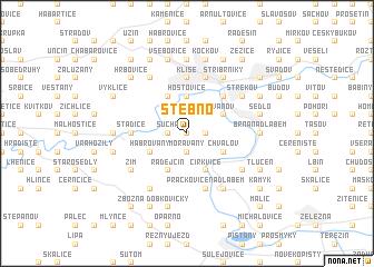 map of Stebno