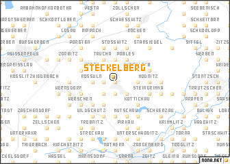 map of Steckelberg