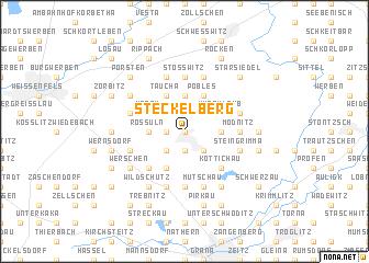 map of Steckelberg