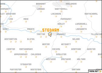 map of Stedham