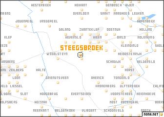map of Steegsbroek