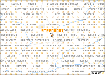 map of Steenhout