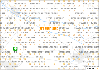 map of Steenweg