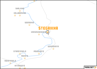 map of Stegaikha