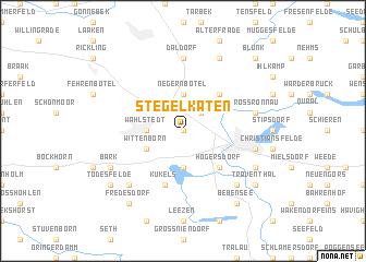 map of Stegelkaten