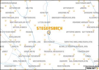 map of Stegersbach
