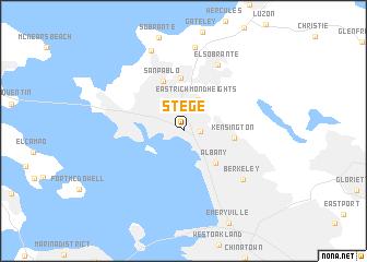 map of Stege