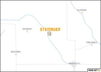 map of Steinauer