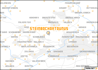 map of Steinbach am Taunus