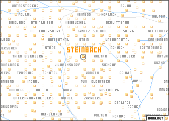 map of Steinbach