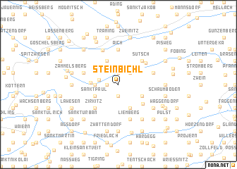 map of Steinbichl