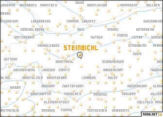 map of Steinbichl
