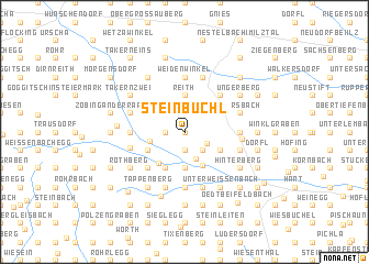 map of Steinbüchl