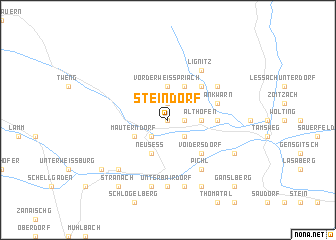 map of Steindorf