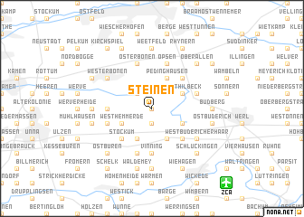 map of Steinen