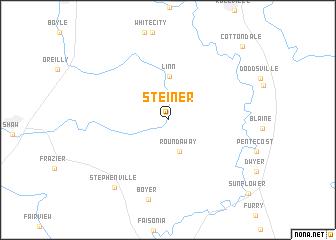 map of Steiner