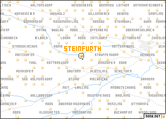 map of Steinfurth