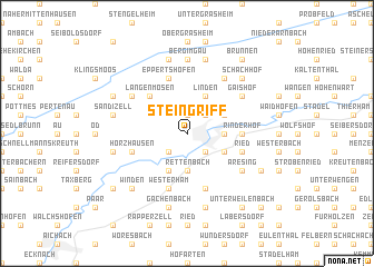 map of Steingriff