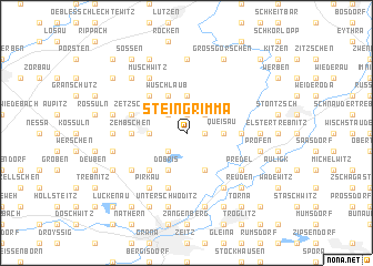 map of Steingrimma