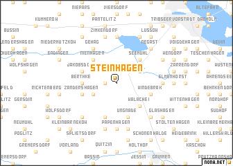 map of Steinhagen