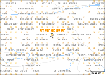map of Steinhausen