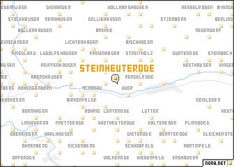 map of Steinheuterode