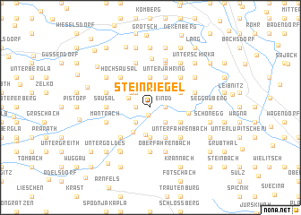 map of Steinriegel