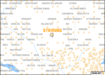map of Steinwag