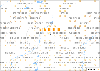 map of Steinwand