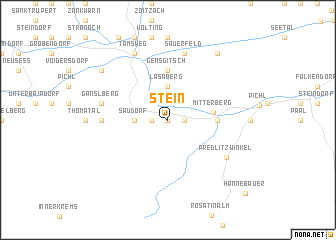 map of Stein