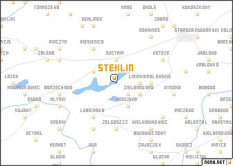 map of Steklin