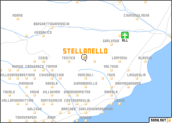 map of Stellanello