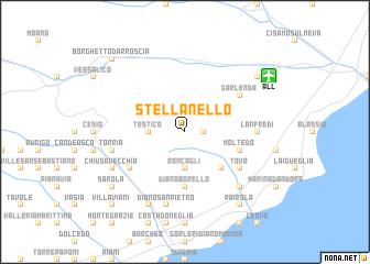 map of Stellanello