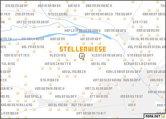 map of Stellenwiese