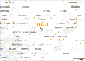 map of Stelle