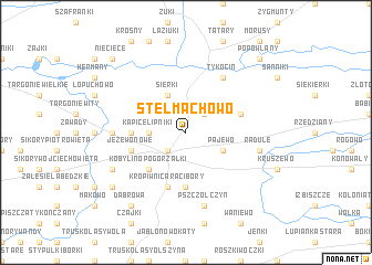map of Stelmachowo