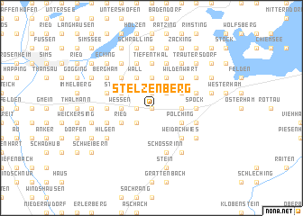 map of Stelzenberg