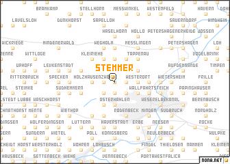 map of Stemmer