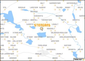 map of Stengård