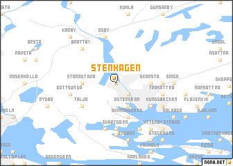 map of Stenhagen