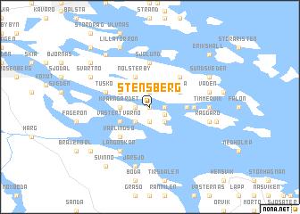 map of Stensberg