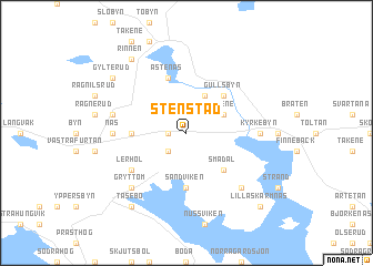 map of Stenstad